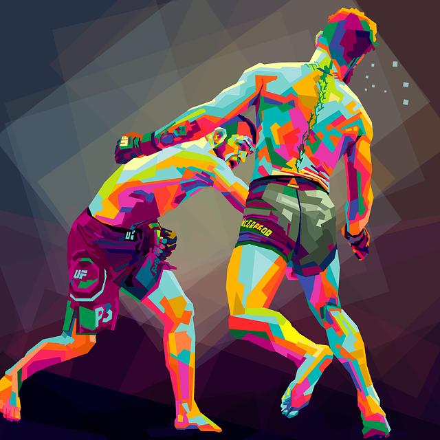 COMBAT MMA UFC 242