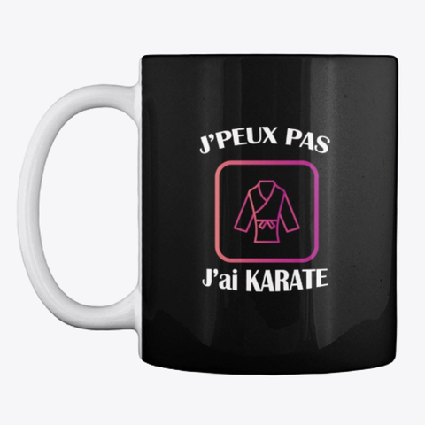 Mug karate  art martial
