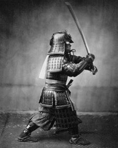 Les arts martiaux et le katana
